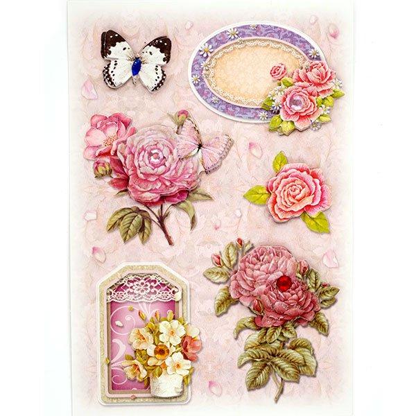 Мая, открытки из наклеек